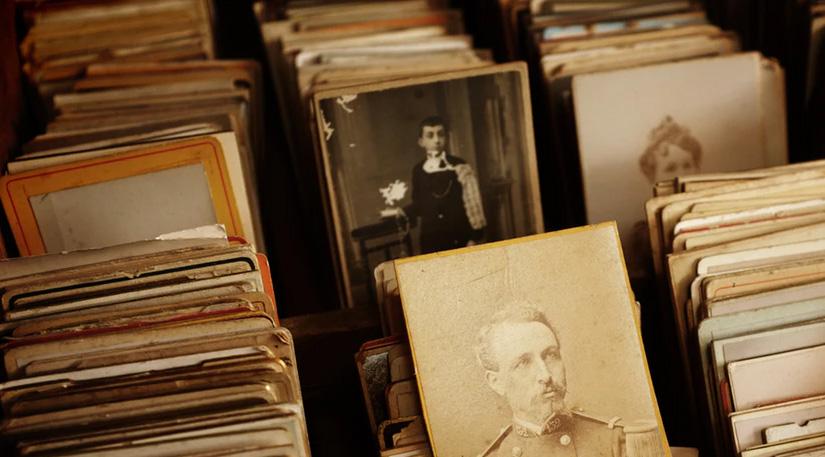 Old portrait photos