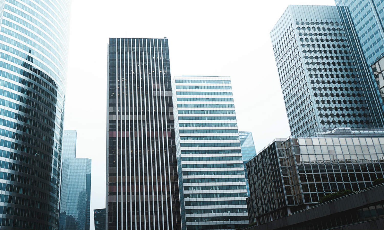 A professional business cityscape