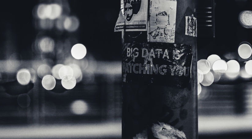 Big data is watching you sign